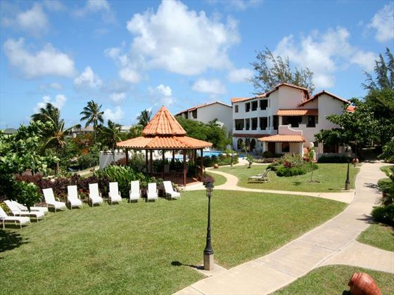 Sugar Cane Club Hotel & Spa tropical gardens