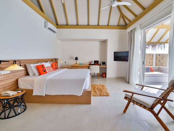Beach Suite with Pool at Sun Aqua Iru Veli
