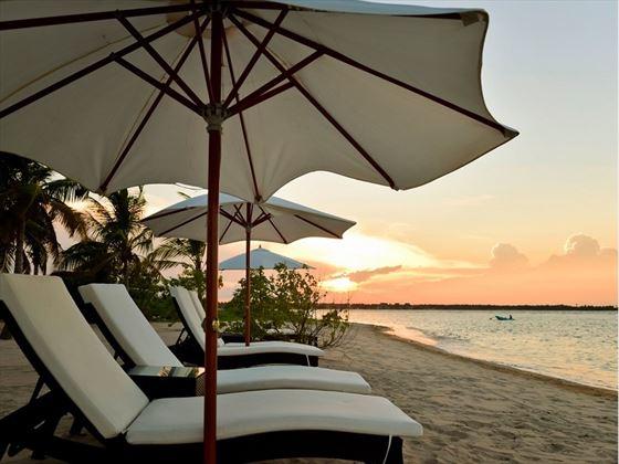 Sun Aqua Pasikudah beach loungers