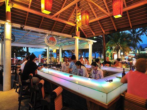 Sunset bar at Patong Merlin Hotel