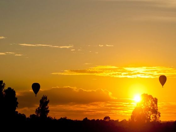 Sunset over the Hunter Valley