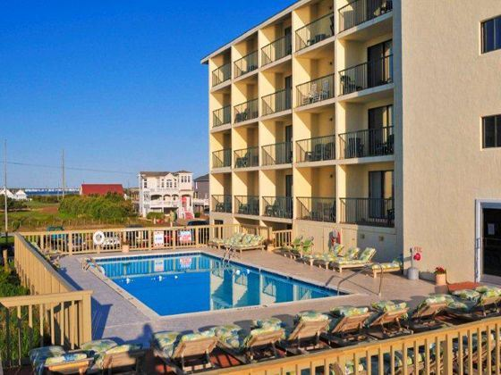 Surf Side Hotel Swimming Pool, Nags Head, North Carolina