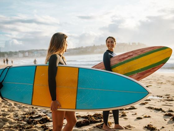 Surfer girls, Sydney
