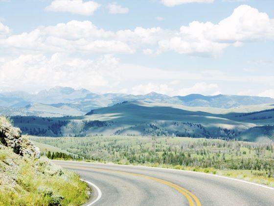 Sweeping roads through Grand Teton National Park