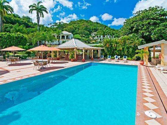 Swimming pool at Blue Horizons