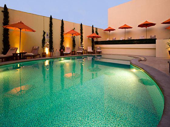 Swimming pool at dusitD2