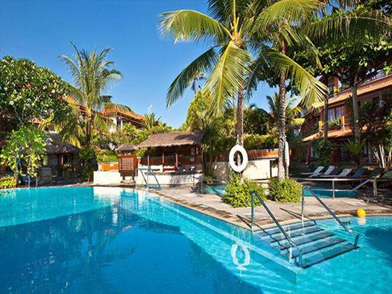 Swimming pool at Melia Benoa