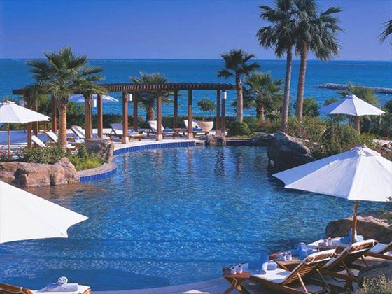 Swimming pool at Ritz Carlton