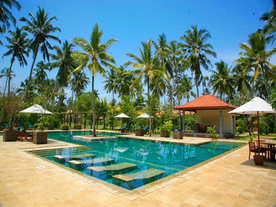 Swimming pool at Serene Pavilions