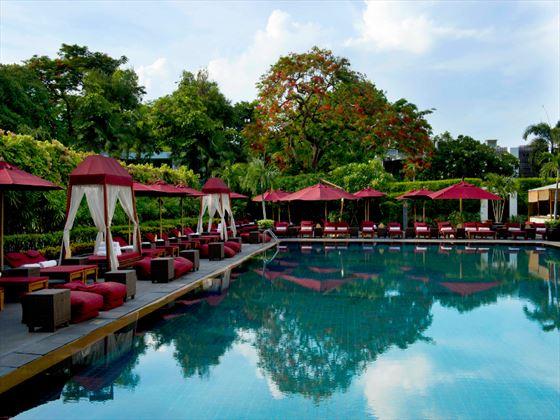 Swimming pool at The Sukhothai Bangkok