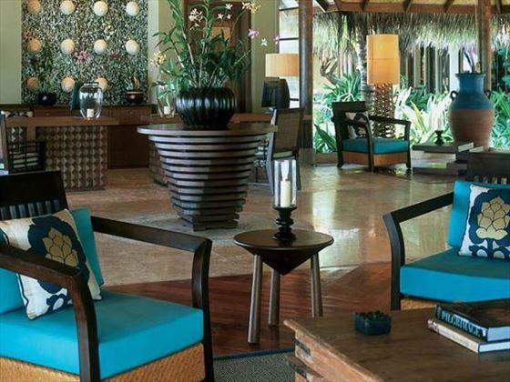 Taj Exotica Resort & Spa lobby area
