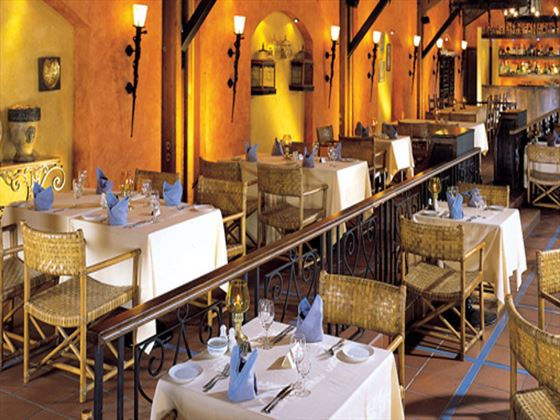 Taverna restaurant at Dubai Marine Beach Resort and Spa