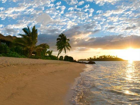 Te Manava Luxury Villas & Spa beach