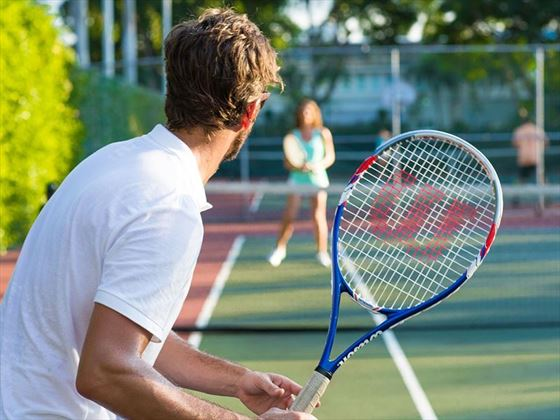 Tennis at Sandals Royal Bahamian