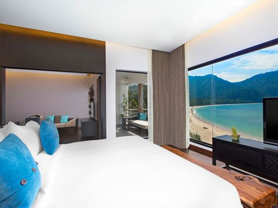 Executive Suite Sea View Rooms at The Andaman, Langkawi