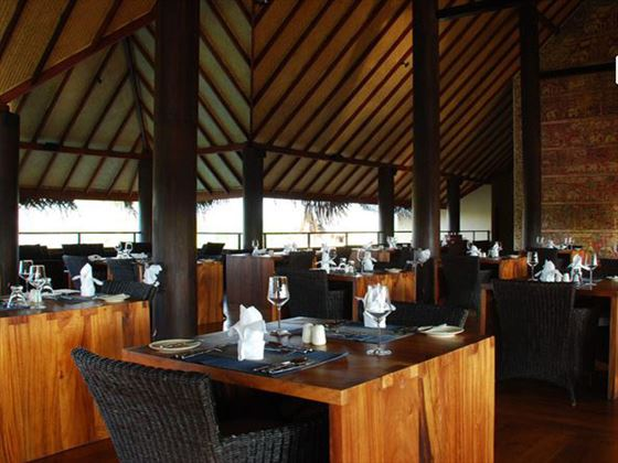 The Apsara restaurant at Jetwing Vil Uyana