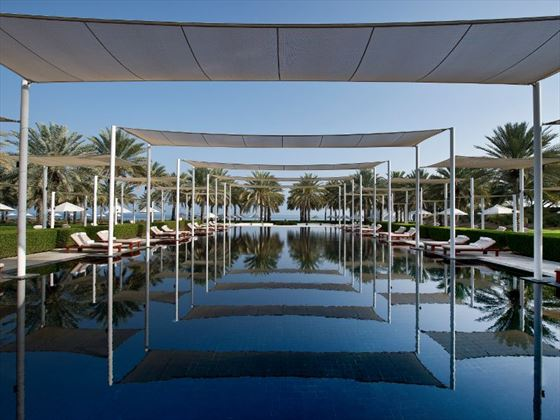 The Chedi - Oman Serai Pool
