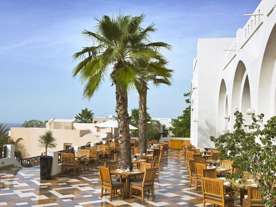The Cova Rotana, Cinnamon terrace