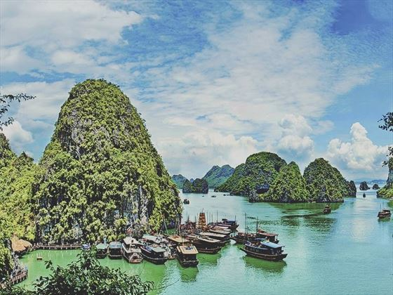 The gorgeous Halong Bay, Vietnam