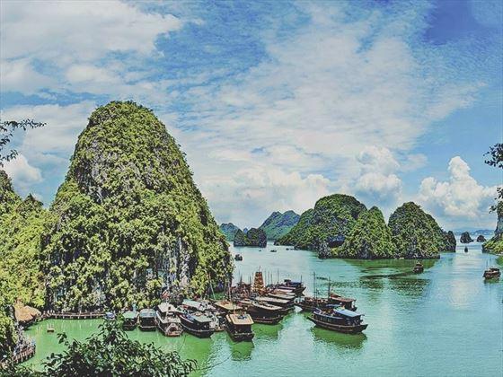 The gorgeous Halong Bay, Vietnam