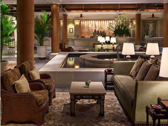 The Laguna Resort & Spa Hotel lobby