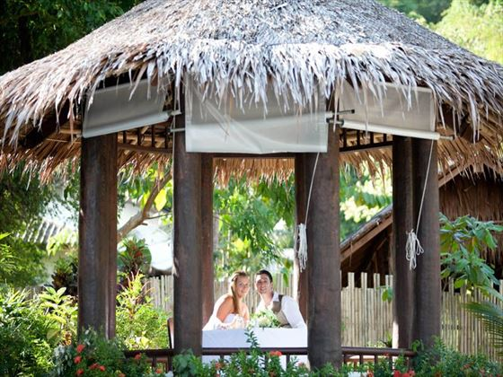 Beautiful wedding surroundings at The Paradise Koh Yao