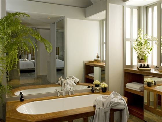 The Surin Phuket bathroom