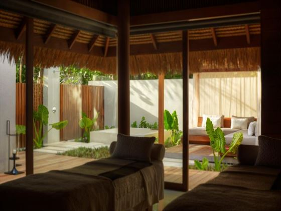 The Vidhun Spa treatment villa at Park Hyatt Hadahaa Resort