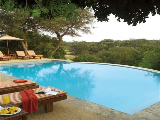 Pool at Thornybush Game Lodge