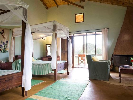 Tloma Lodge, room interior