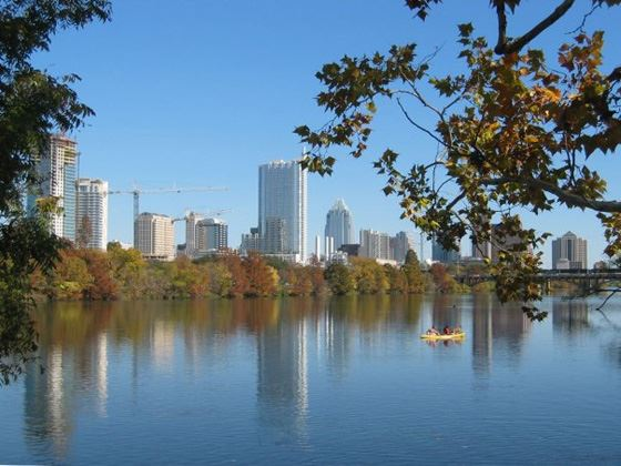 Town Lake, Austin, Texas