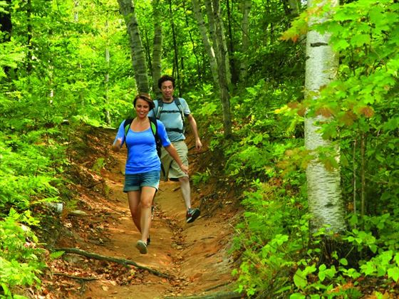 Hike the trails of the Blue Mountains (Ontario Tourism)