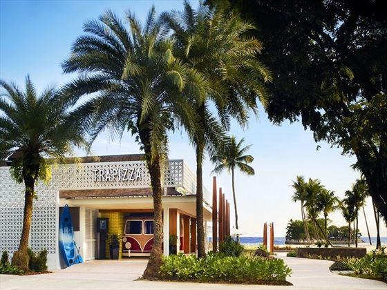 Trapizza, Shangri-La Rasa Sentosa Resort