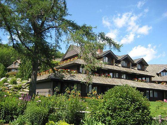Trapp Family Lodge Exterior