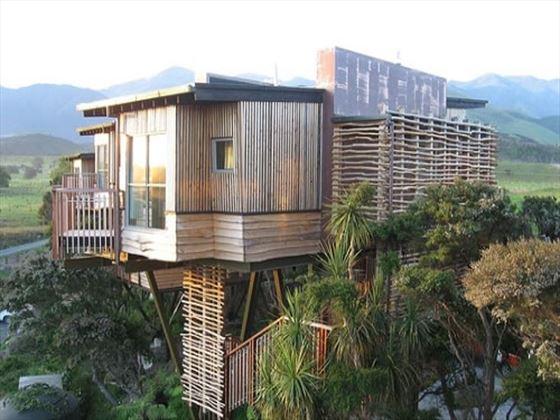 Tree Houses at the Hapuku Lodge & Tree Houses
