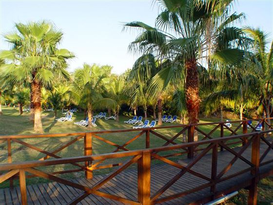 Tropical gardens at Blau Varadero