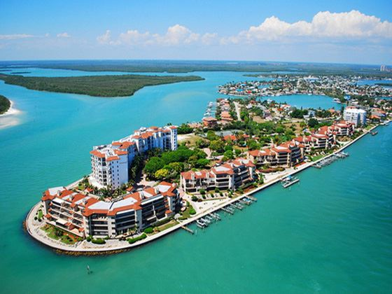 Aerial View of Marco Island