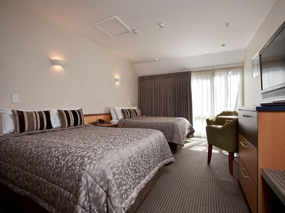 Twin Room at Heritage Dunedin Leisure Lodge