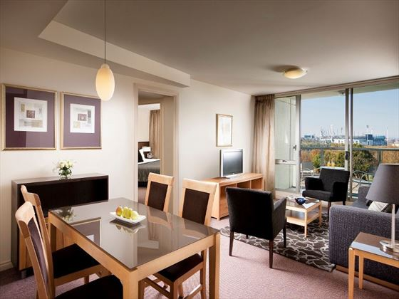Two-Bedroom Suite at Quay West Suites Melbourne