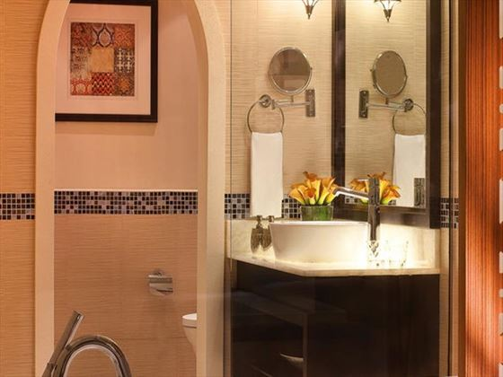 Typical bathroom at Movenpick IBN Battuta Gate