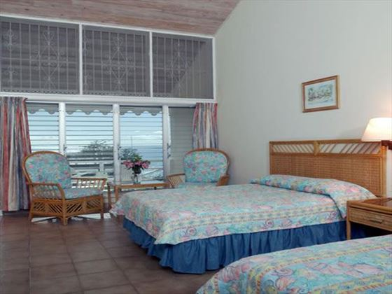 Typical bedroom at Hawksbill by rex resorts