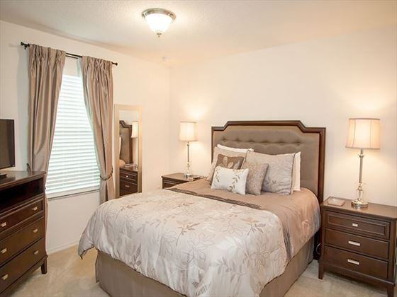 Typical Crystal Cove Bedroom