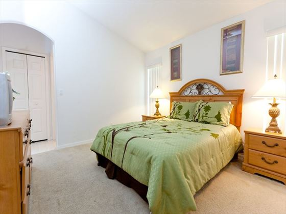 Typical Disney Area Executive Home Bedroom