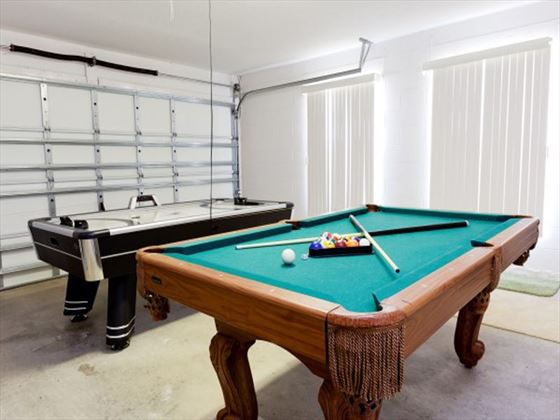 Typical Disney Area Executive Plus Games Room (Optional)