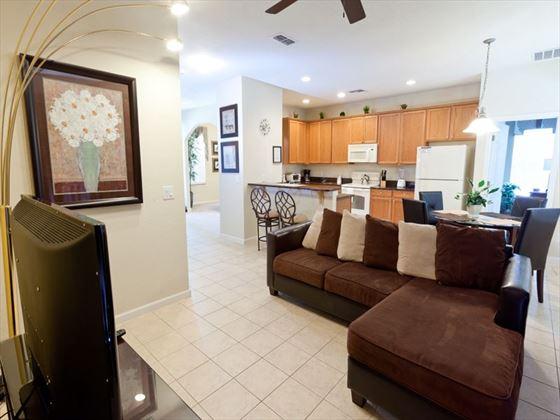 Typical Disney Area Platinum Living Room