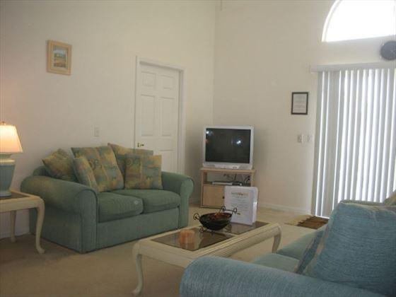 Typical Disney Area Standard Living Room