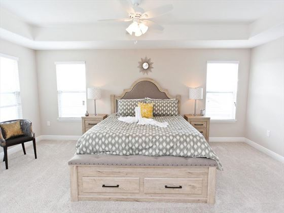 Typical  Solterra Bedroom
