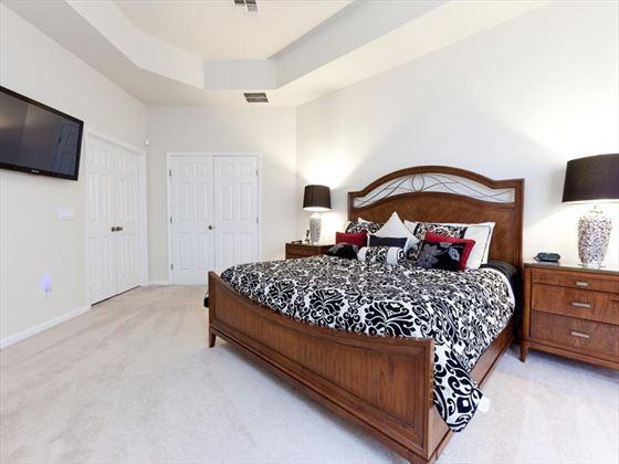 Typical Trafalgar Village Bedroom