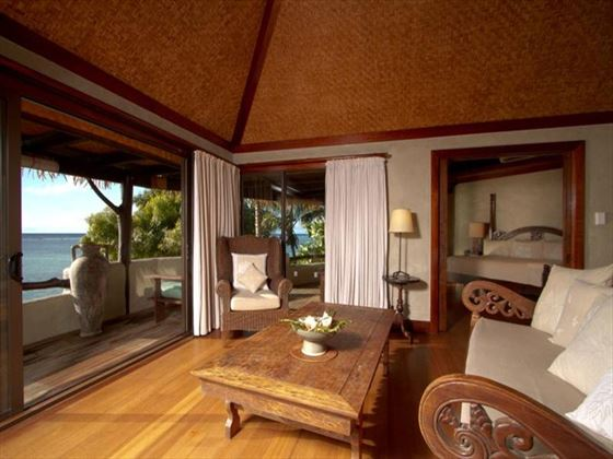 Ultimate Beachfront Villa at Pacific Resort Aitutaki
