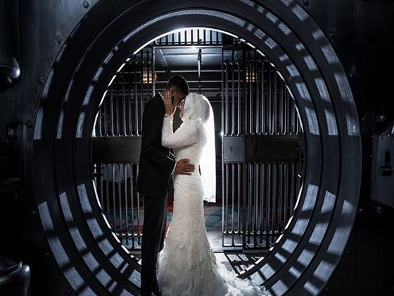 Weddings in the vault